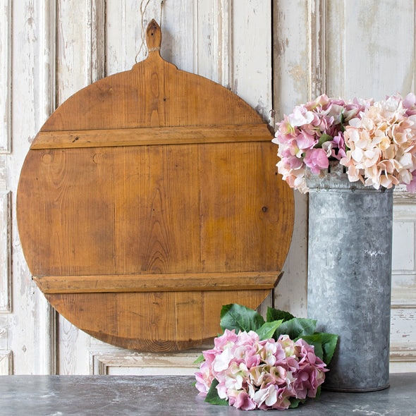 Antique Large Round Breadboad, Germany c. 1920