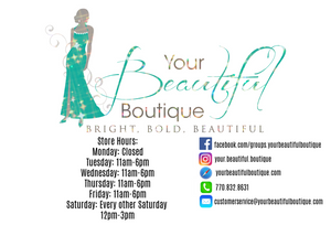 Shop Your Beautiful Boutique