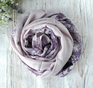 Patterned Viscose Hijab