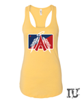 Los Angeles baseball tank top