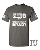 King of Comeback Brady patriots t-shirt