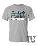 Philadelphia Eagles underdogs champions 2018 t-shirt
