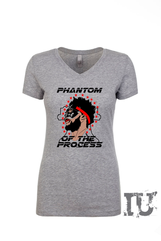 Phantom of the process ladies shirt