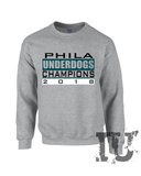 Philadelphia Eagles underdogs champions 2018 Sweatshirt