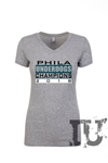 Philadelphia Eagles underdogs champions 2018 ladies t-shirt