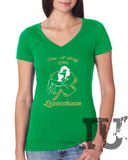 Sexy little Leprechaun ladies t-shirt