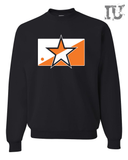 Orange star sweat shirt