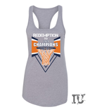 Virginia basketball redemption 2019 champions ladies tank top