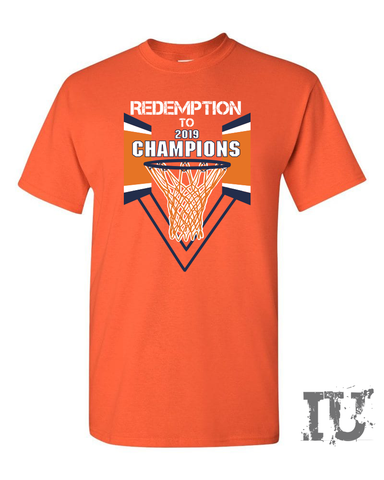 Virginia basketball redemption 2019 champions adult shirt