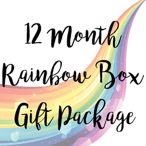 12 Month Rainbow Box Package