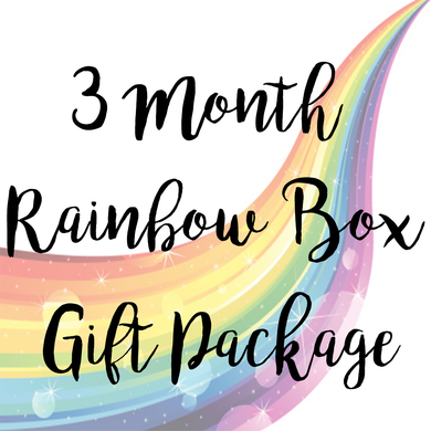 3 Month Rainbow Box Package