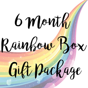 6 Month Rainbow Box Package