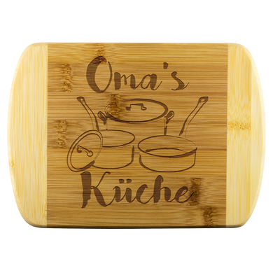 Oma's Küche Bamboo Cutting Board