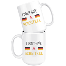 I Don't Give A Schnitzel 15 oz Coffee Mug!