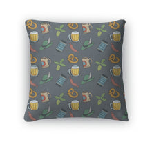 Throw Pillow, Colorful Octoberfest