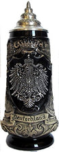 Deutschland German Pewter Coat of Arms Beer Mug