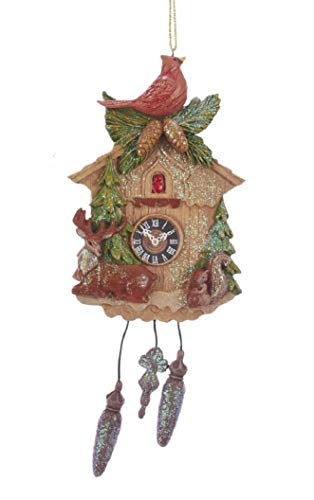 Cardinal Cuckoo Clock Ornament
