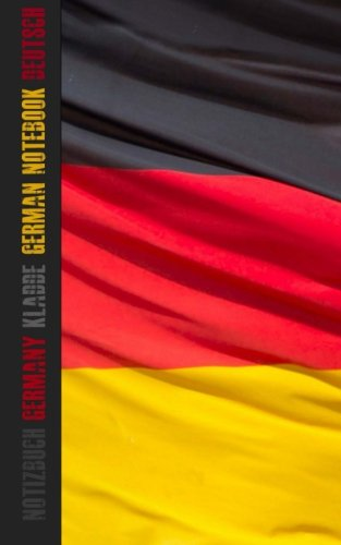 German Flag Notebook/Journal