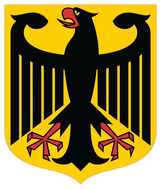 German Eagle Shield Decal