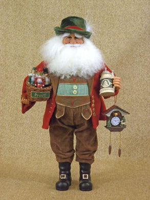 German Santa Claus Collectible Doll Figurine