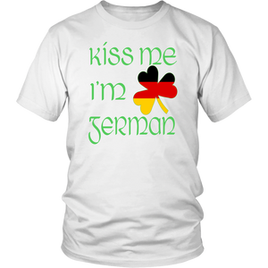 Kiss Me I'm German - Mens