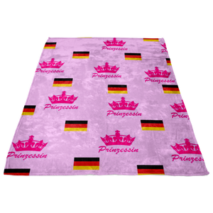 German Prinzessin Fleece Blanket!