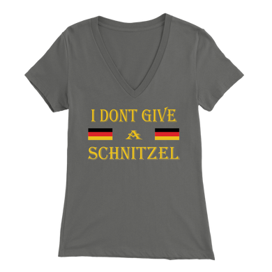 I Don't Give A Schnitzel Womens Apparel