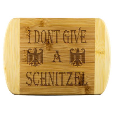 I Don't Give A Schnitzel Cutting Board