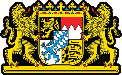 Bavaria Coat Of Arms Vinyl Decal