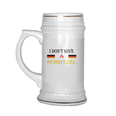 I Don't Give A Schnitzel Beer Stein!