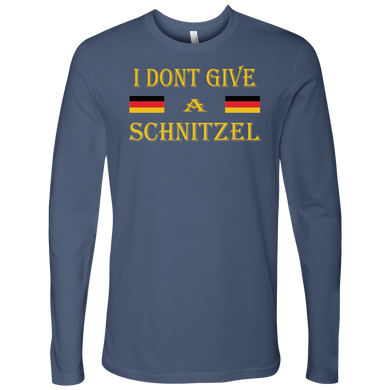 I Don't Give A Schnitzel Mens Apparel