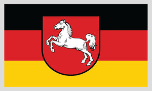 Lower Saxony Flag Decal