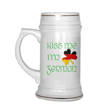 Kiss Me I'm German Beer Stein!