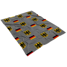 German Eagle-Flag Fleece Blanket