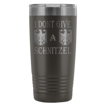I Don't Give A Schnitzel Etched Tumbler