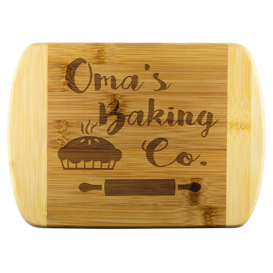Oma's Baking Co. Cutting Board!