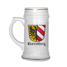 Nürnberg/Nuremberg Beer Steins-  German/English Variations