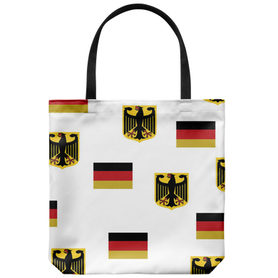 German Eagle/Flag Tote Bag