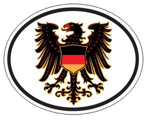 German Eagle Decal