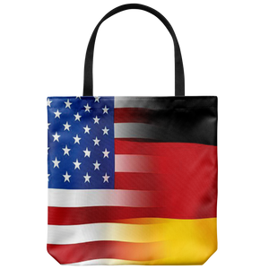 USA-German Flag Tote Bag