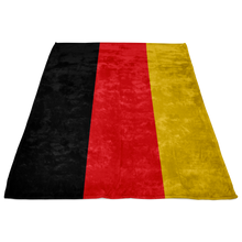 German Flag Fleece Blanket