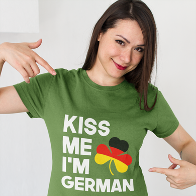 Kiss Me I'm German Hoodie/Shirt Mens/Womens