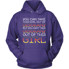 You Can't Take The Germany Out Of This Girl! Purple Hoodie