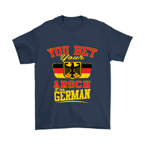 You Bet Your Arsch I'm German! Navy T-Shirt