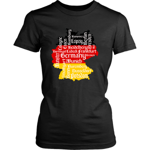 I Love Germany Cities Shirt!