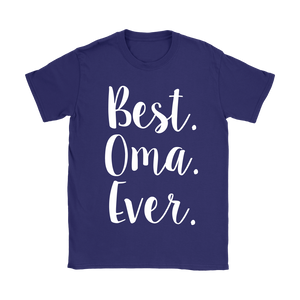 Best. Oma. Ever. Purple T-Shirt
