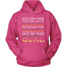 You Can't Take The Germany Out Of This Girl! Pink Hoodie