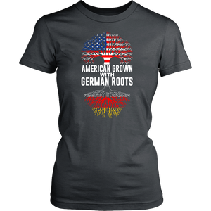 American Grown With German Roots Shirt