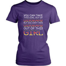 You Can't Take The Germany Out Of This Girl! Purple T-Shirt
