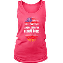 American Grown With German Roots Tank Top Pink